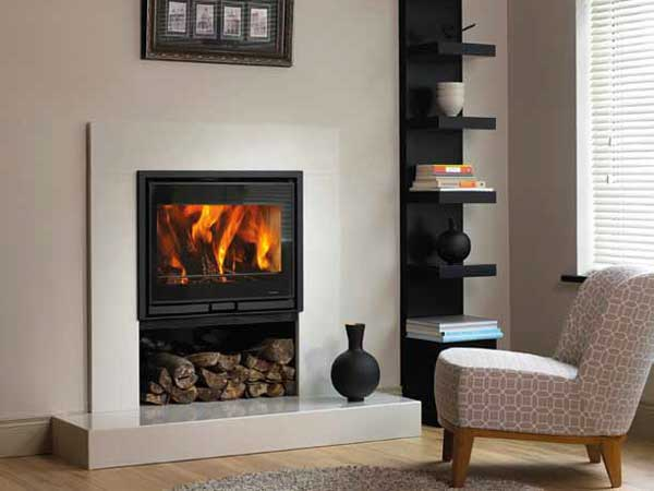 Wall Mounted Inset Stove Ballymount Fireplaces